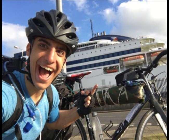 Lockdown में माता-पिता से मिलने के लिए, 48 दिन, 5 देशों की सीमाएं और साईकिल से 2000 किलोमीटर का सफर