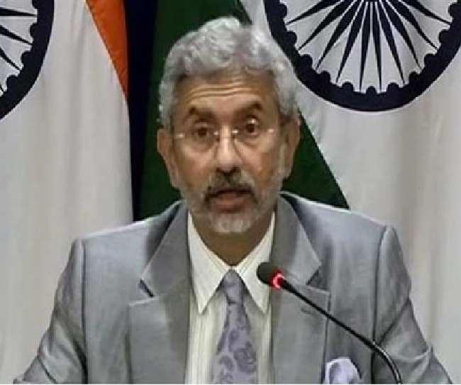 विदेश मंत्री एस. जयशंकर की फाइल फोटो
