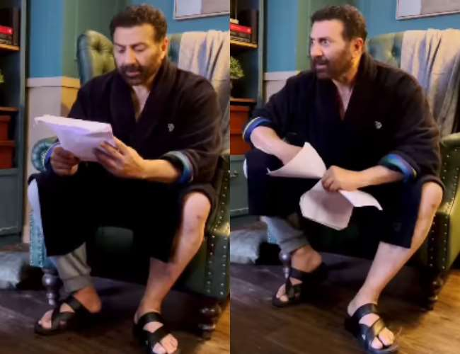 Sunny Deol in viral video. Photo- Instagram