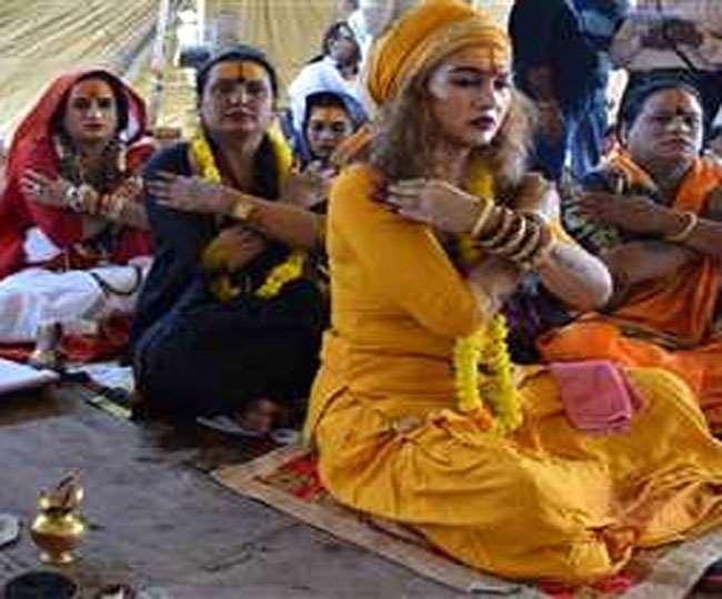 Maha Rudrabhishek Yagya, Jharkhand Ranchi News धार्मिक अनुष्ठानों में किन्नर समाज की रुचि हमेशा से रही है।