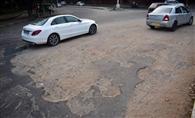 रायपुररानी में सड़कों की हालत खस्ता, प्रशासन मूक