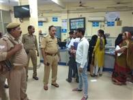 पुलिस ने खंगाले बैंक, पेट्रोल पंप और पोस्टऑफिस