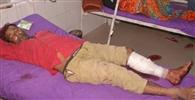 मलसराय में पुलिस-बदमाशों में फायरिग, एक घायल