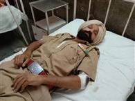पुलिस मुलाजिम ने एएसआई को पीटा, अस्पताल में भर्ती