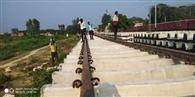 कानपुर-लखनऊ रेलवे ट्रैक पर हाईस्पीड देने का काम शुरू