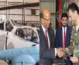 भारत ने काबुल में अफगानिस्तान को सौंपे दो एमआइ-24वी हेलीकॉप्टर