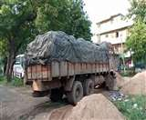 जनवितरण प्रणाली के तहत रखे गए चावल की हो रही थी तस्करी, दो वाहन जब्त