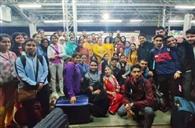 जीएमसी के 52 विद्यार्थी स्टडी टूर के लिए रवाना