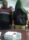 जेवर दुकान का ताला तोड़कर चोरी करने के दो आरोपी गिरफ्तार