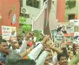 BJP का राहुल गांधी के खिलाफ देशव्यापी विरोध प्रदर्शन, राफेल पर बयान पर देश से माफी की मांग