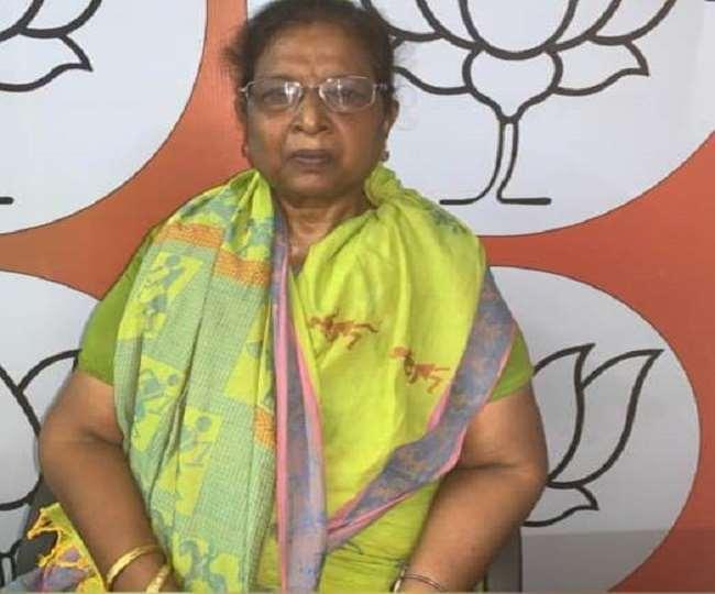 बेतिया की भाजपा विधायक रेणु देवी (फोटो- जागरण)