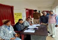 केवटी में कड़ी सुरक्षा व्यवस्था के बीच मतदान शांतिपूर्ण संपन्न