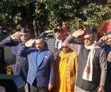 देश के लिए मर मिटने का जज्बा उत्तराखंडियों की रगों में दौड़ता: सीएम त्रिवेंद्र सिंह रावत