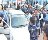 रंजिशन युवक पर फायरिंग, इलाज नहीं करने पर अस्पताल में परिजन और स्टाफ में भिंड़त Meerut News