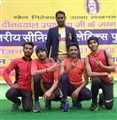 स्टेट चैंपियनशिप में जिले के एथलीट ने जीते पदक