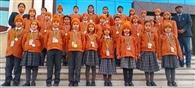 इंग्लिश ओलंपियाड में दिल्ली इंटरनेशनल स्कूल ने मारी बाजी