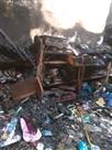 कॉस्मेटिक दुकान में आग , सारा सामान जल कर राख