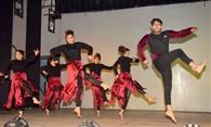 नृत्य की शानदार प्रस्तुति से सभागार में गूंजी तालियां