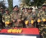 पाक की नापाक हरकत; Indo-Pak Border से 41 किलो हेरोइन, 96 कारतूस व तीन पिस्टल बरामद