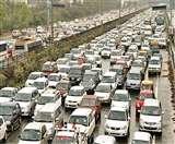 CAA Delhi Protests:शाहीन बाग में धरने से ठप पड़ा ट्रैफिक, DND समेत कई रूटों पर लगा भीषण जाम