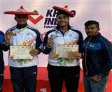शूटर सरताज सिंह टिवाना ने खेलो इंडिया में जीता सिल्वर मेडल Chandigarh News