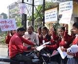 National Road Safety Week : 'पापा-मम्मी गाड़ी धीरे चलाना, सुरक्षित लौट कर घर है आना' Dhanbad News