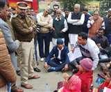 ब्लॉक समिति बिलासपुर चेयरमैन के अविश्वास प्रस्ताव से पहले मेंबर का अपहरण, हंगामा