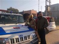 रामपुरा फूल में 12 स्कूल वैन के काटे चालान, दो गाड़ियां इंपाउंड