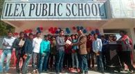 दसवीं के विद्यार्थियों को दी गई विदाई