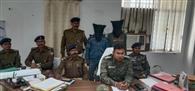 नक्सली संगठन का कमांडर गिरफ्तार