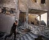 सीरियाई बलों ने अलेप्पो से विद्रोहियों को खदेड़ा, कई इलाकों में किए गए हवाई हमले