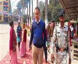 Bihar board Matric Examination 2020: कड़ी सुरक्षा के बीच 63 केंद्रों पर मैट्रिक परीक्षा शुरू, समय से पहले पहुंच गए थे केंद्रों पर