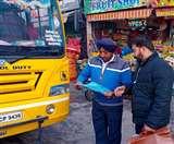 संगरूर हादसे के बाद हरकत में आई पुलिस, ओवरलोड स्कूल बसों के काटे चालान