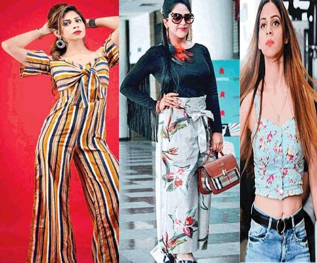 Fashion worn organic clothes in health awareness