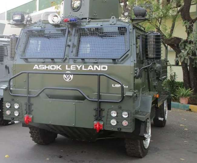 इस वाहन पर नहीं होगा गोली और बम धमाकों का असर
