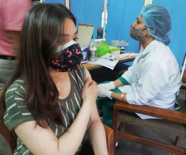 भारत में कोरोना टीकाकरण जारी। (फाइल फोटो)