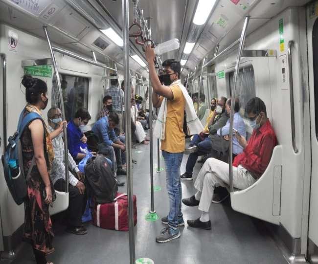 ग्रीन लाइन पर मेट्रो परिचालन के समय में बदलाव किया है।