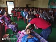 हेल्पएज इंडिया ने सायरी में लगाया प्रशिक्षण शिविर