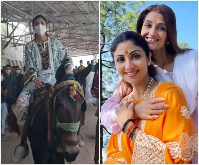 शिल्पा शेट्टी माता वैष्णो देवी के दर्शन कर वापस लौटीं घर, सोशल मीडिया पर हुईं ट्रोल