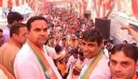 विधायक महीपाल ढांडा कार्यकर्ताओं से व्यक्तिगत मिलने के साथ जनसभाओं में दे रहे जीत का नारा