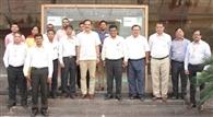 प्रधान सचिव राजेश खुल्लर ने रिफाइनरी का निरीक्षण किया