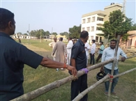 मुख्यमंत्री के आगमन की तैयारी पूरी, सभा स्थल पहुंचे अधिकारी