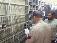 दुकान का शटर काटकर पांच लाख की कॉपर वायर चोरी