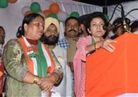भाजपा ने की झूठ की राजनीति : सैलजा