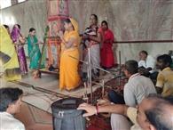 हनुमज्जयंती समारोह के दूसरे दिन अखंड हरिनाम संकीर्तन एवं भंडारा का किया गया आयोजन