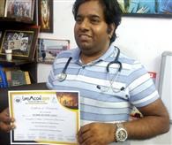 आगरा में सम्मानित किए डॉ. सुशील कुमार