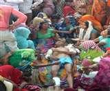 खेत में बाजरा काटते आदमी की सांड़ नेे ले ली हमला कर जान Agra News