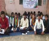 जैक के रवैये से नाराज छात्राएं बैठी भूख हड़ताल पर Jamshedpur News
