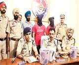ढाबे पर फायरिंग करने वाले अारोपित गिरफ्तार, तीनों से पिस्टल बरामद Ludhiana News