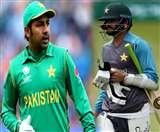 पाकिस्तानी कप्तान सरफराज अहमद की होगी छुट्टी, इस खिलाड़ी को मिल सकती है कमान !